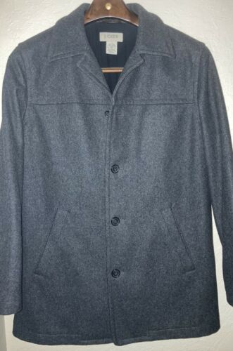 J CREW Vintage Wool Pea Coat-Small