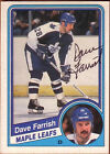 1984 O-PEE-CHEE Dave Farrish #301 Hockey Card