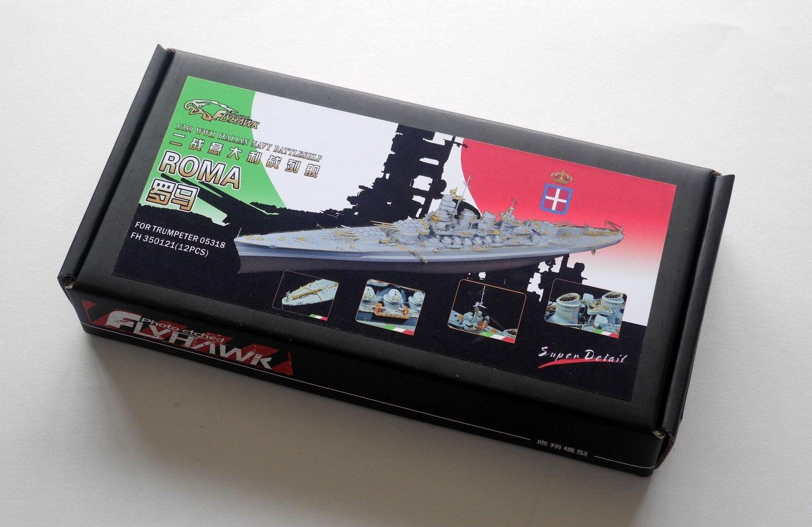 Flyhawk 1 350 350121 Italian Battleship RN Roma for Trumpeter
