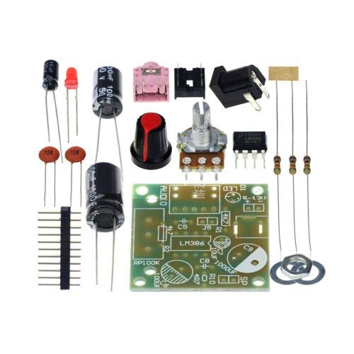 Feichao Smart Electronic DIY Kit LM386 Super Mini Audio Amplifier DIY Kit Suite
