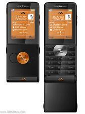 Sony Ericsson Walkman W350i - Electric Black orange - Mobile Phone