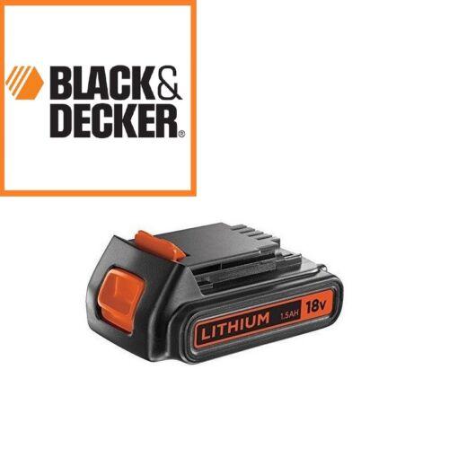 Bl1518 Batterie 18v 1,5ah Black/&decker Egbl18 Egbhp188 Gkc1820 Stc1815