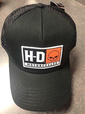 Harley-Davidson Men/'s H-D Skull Ballcap BCC04330