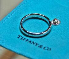 Tiffany & Co Platinum Mens Lucida Wedding Band