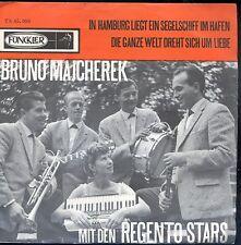7inch BRUNO MAJCHEREK mit den regento stars IN HAMBURG LIEGT EIN.. holland EX