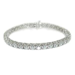 Striking-11-33-TCW-Round-Cut-Diamonds-Tennis-Bracelet-In-14k-White-Gold
