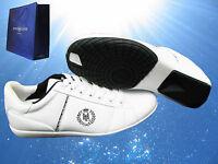 Henri Lloyd jacob Men's Trainers Shoes White / Black Trim Uk 7