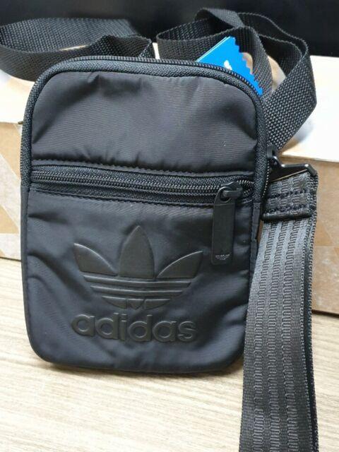 f1ecdbfb79c adidas Originals Festival Bags Messenger Black Running Bag Cross Gym Sack  DV0216
