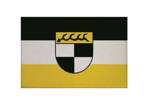 Ricamate Balingen bandiera bandiera aufbügler Patch 9 x 6 cm