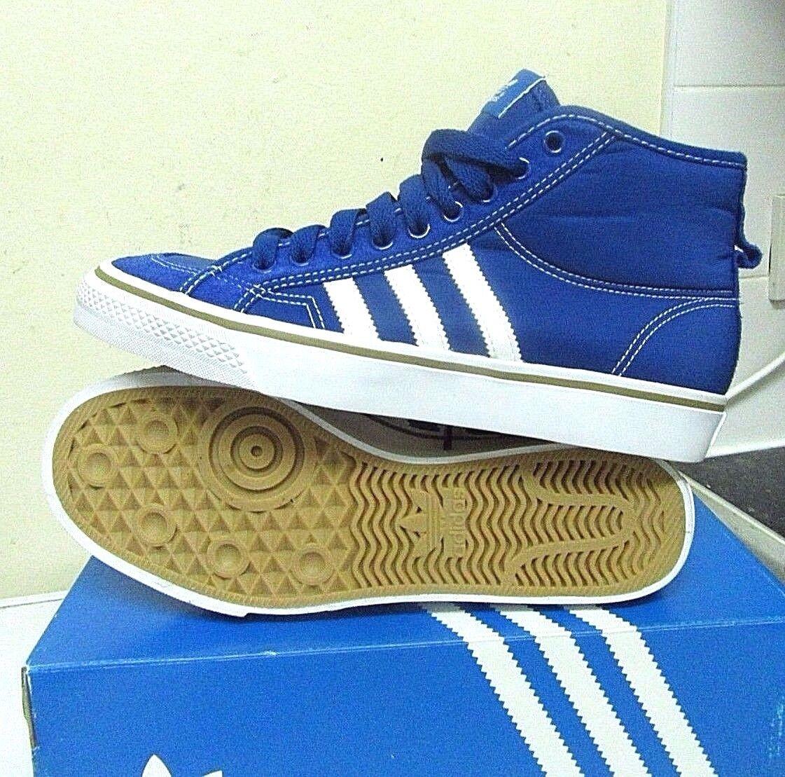Adidas in Originals mens nizza Hi in Adidas Blau b67eef