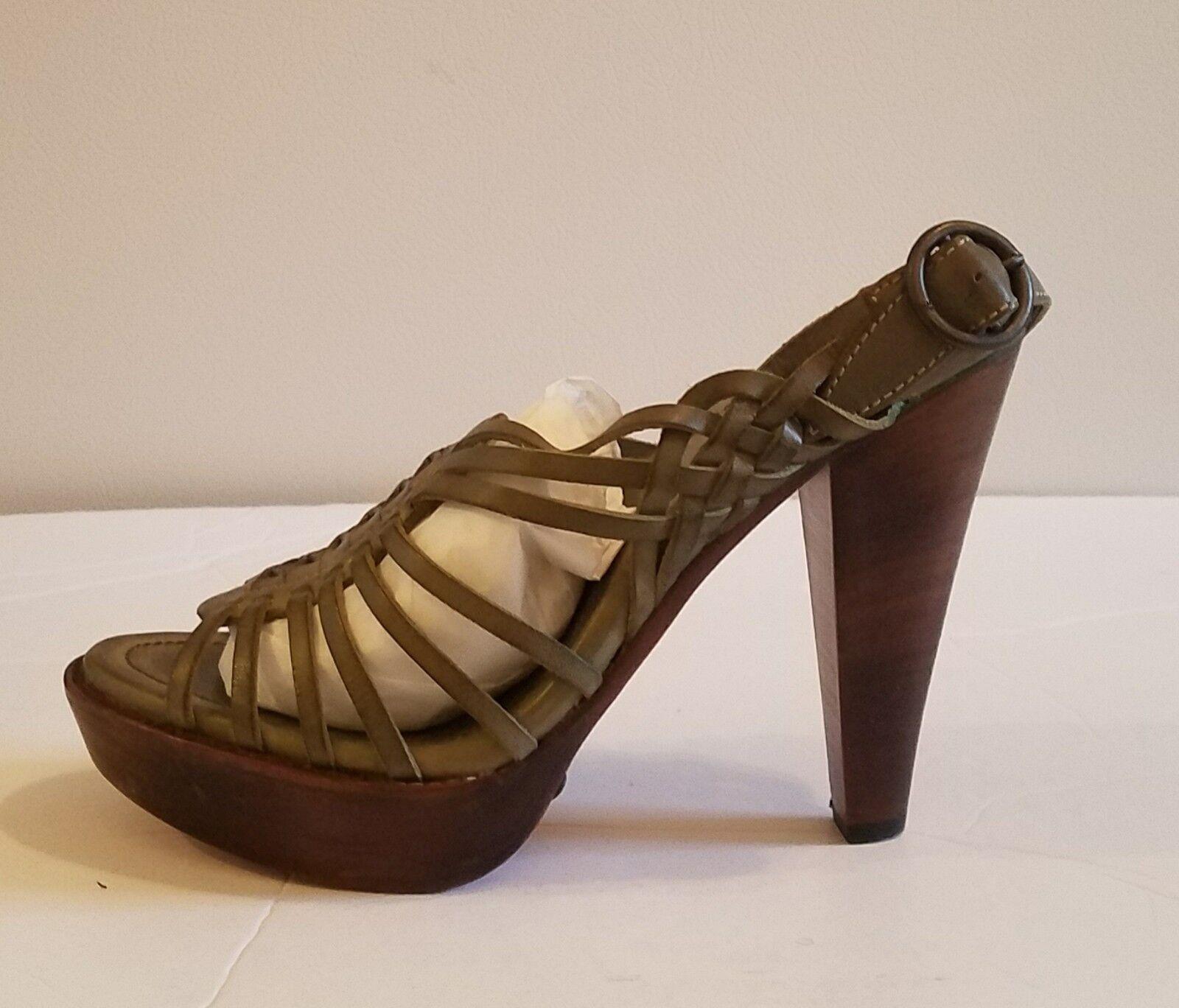 il miglior servizio post-vendita NWB NWB NWB Frye Joy Huarache Sling Strappy Leather Sandals verde sz 11  vendendo bene in tutto il mondo