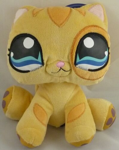 YELLOW Girls Toys 10 Inch Littlest Pet Shop Soft Toy PL18