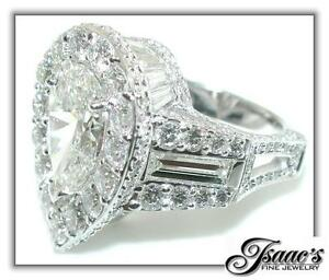 10-5-CT-Large-PEAR-Diamond-CROWN-Engagement-RING-18KW