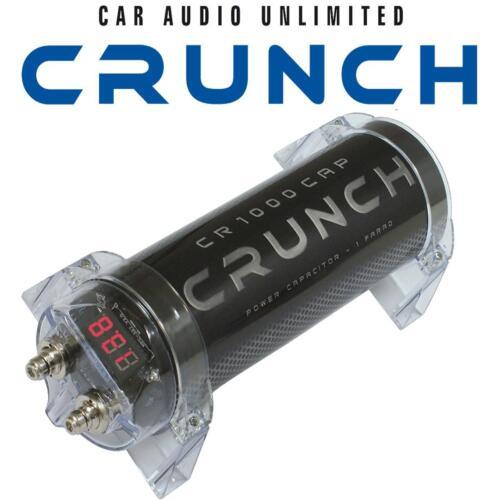 Crunch 1 Farad condensador en resistente carcasa con soportes