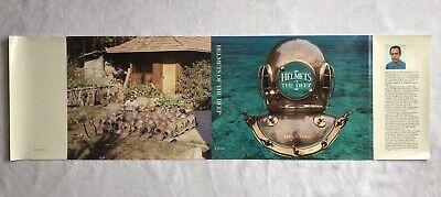 Deep Sea Diver LYONS MARITIME MUSEUM Pin New Old Stock Florida Souvenir Vintage