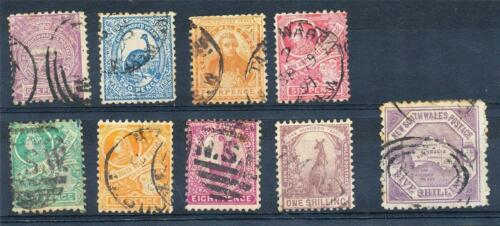 NSW Centenary of NSW 1d to 5 issues Used