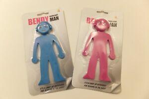 Bendy Man Book Light - Blue