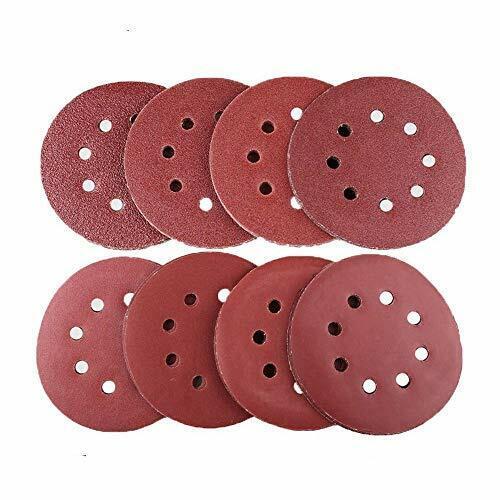 Lot de 80 Disques Ponçage Ø 125 mm Disques Abrasifs 40//60//80//120//180//240//320//400