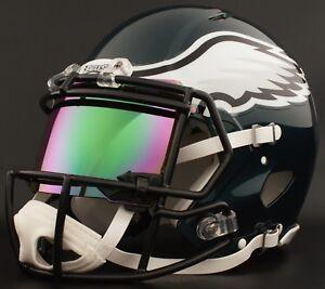 59506770e04 Image is loading CUSTOM-PHILADELPHIA-EAGLES-Full-Size-NFL-Riddell-SPEED-
