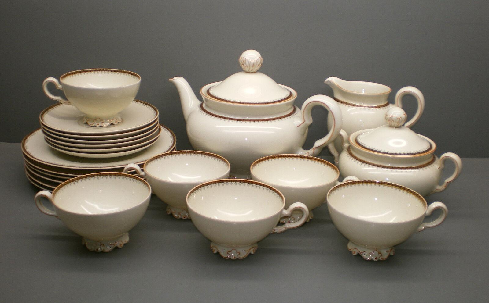 Furstenberg thé service - 6 personnes. - 0121 L