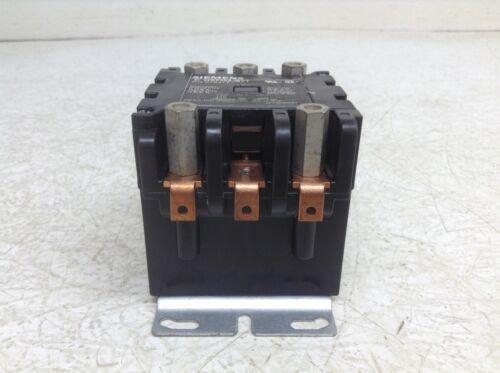 Siemens Furnas 42EF35AJBVT 60 FLA Definite Purpose Contactor 24 VAC Coil