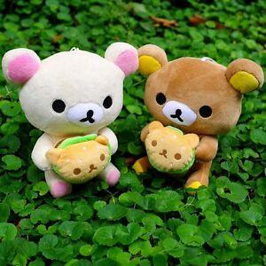 2PCS-Japan-San-x-7-87-034-Rilakkuma-Relax-Bear-Cute-Plush-Doll-Toy-Christmas-Gift