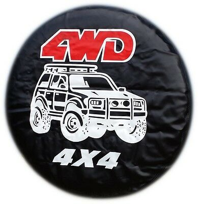 TYRE SPARE WHEEL COVER 4WD NISSAN TERRANO PININ VAUXHALL DISCOVERY DAIHATSU FORD