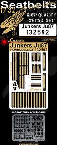 HGW-1-32-Junkers-Ju-87-039-Stuka-039-Pre-coupes-Laser-Siege-Ceintures-132592