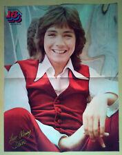 Magazine Poster Pinup~ DAVID CASSIDY ~1970s ~Partridge Family ~Back-DONNY OSMOND