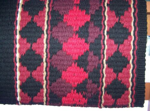 38x34 Rio Hondo Show Blanket Black Base//Red Accents by Mayatex