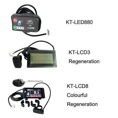 LED880 36V 48V Electric Bicycle Display e bike Controller LED Bike Panel ebike