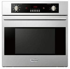 Verona Vebiem241ss 24 Single Electric Wall Oven Built In