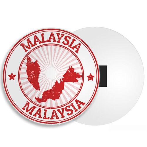 Borneo Kuala Lumpur Cool Travel Tourist Gift #4326 Malaysia Map Fridge Magnet