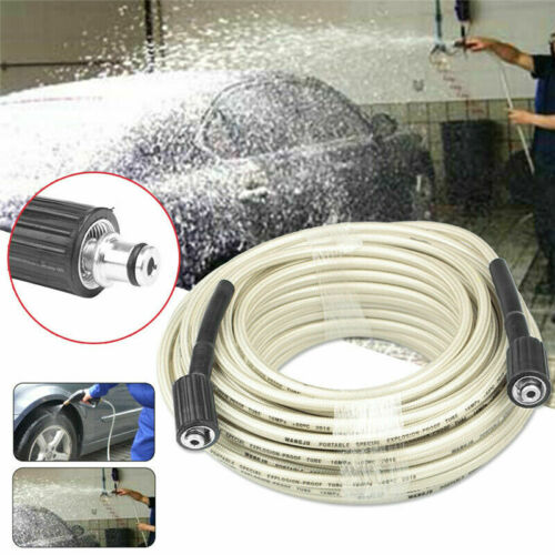 7//15//30M High Pressure Washer Extension Hose 4000PSI M22 Thread Jet Power 5//16/'/'