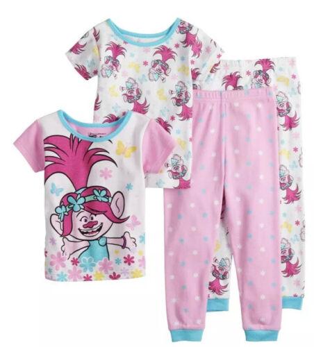 Girl's Toddler DREAMWORKS TROLLS Poppy Tops /& BottomsPajama Sets Size 3T NWT