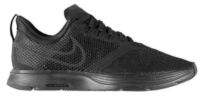 Nike Herren Air Zoom Strike Sneaker Schuh Schwarz alle Größen Neu mit Etikett