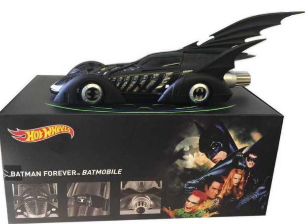 Bathomme Forever Batmobile 1 18 Haritage  BLY43 Hotwtalons  nouveau style