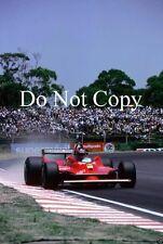 Gilles Villeneuve Ferrari 312 T5 Argentine Grand Prix 1980 Photograph 1