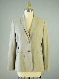 Damenmode Schlussverkauf Ann Taylor Neu Damen Beige Vordertaschen Gefüttert Businesskleid Jacke Größe 10 Klar Und Unverwechselbar
