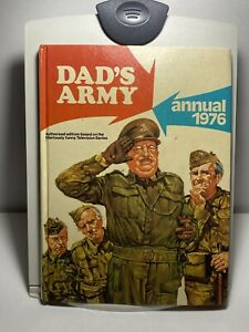 Dad-039-s-Army-Annual-1976-Vintage-Comedy-Television-Hardback-Book-Dads