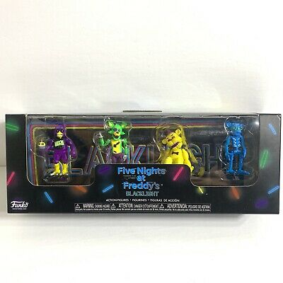 """Blacklight 2/"""" Figures 4 Pack S2 NEW /& Sealed FunKo Five Nights at Freddy/'s"""