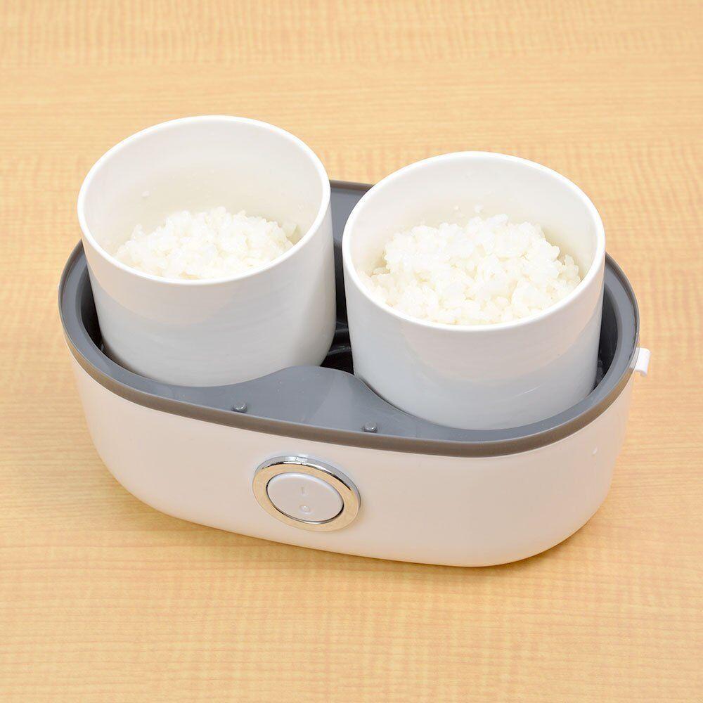 Sanko Personal Cuiseur à riz pour Solo utiliser facilement de délicieux deux conteneurs Japan F S
