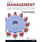 Management: An Introduction, by David Boddy - with MyManagementLab by David Boddy (Mixed media product, 2014)