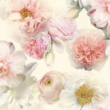 Diamond Bloom Floral Papel Pintado En Rosa-Arthouse 257000 Rose