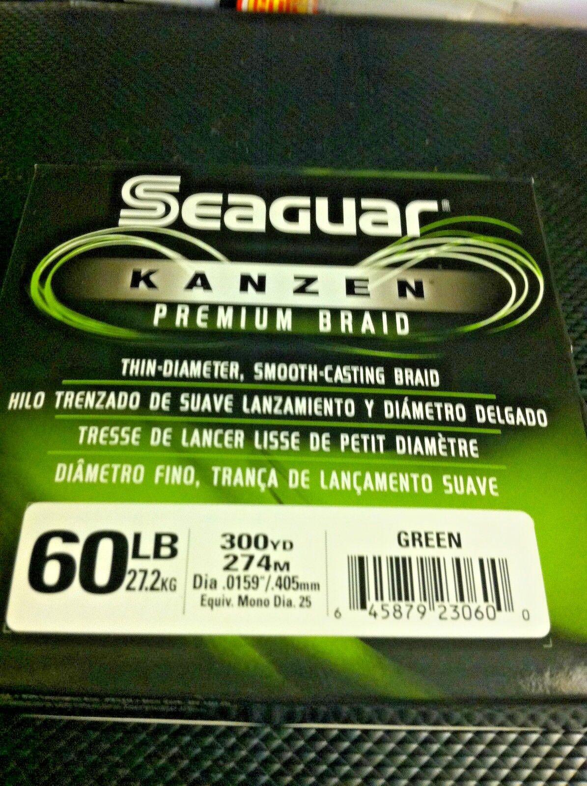 SEAGUAR KANZEN -- 60 lbs - 300 YDS ADVANCE MICROFIBERS SMOOTH CASTING SENSITIVE