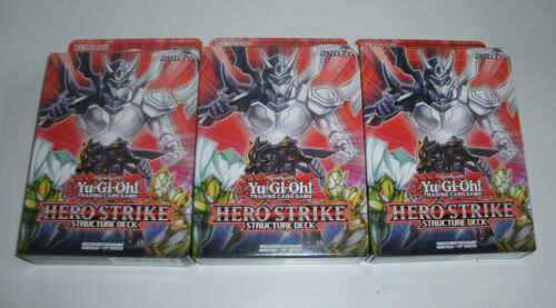 NEU /& OVP Yu-Gi-Oh Deutsch 3x Structure Deck Hero Strike