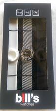 BILL'S Watch Classic pkcl 06 LOCK schiaffo braccialetto NUOVO CON SCATOLA GARANZIA B! LL 'S Watches