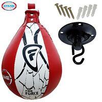 Speed Ball Training & Swivel Origional Leather Punching Ball