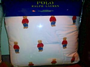 Or Size Bear Details Male About King Polo Comforter Ralph TwinFullqueen Lauren Set In N8Omnv0w
