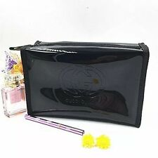 Gucci Guilty Black Cosmetic Makeup Bag travel bag for Large Size PU